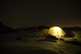 The beauty of sleeping outdoors